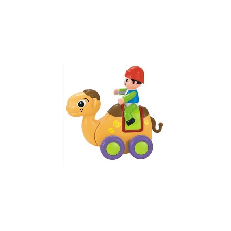 汇乐 动物摇摆秀惯性玩具儿童趣味卡通益智玩具骑士 忠实的骆驼
