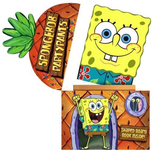 spongebob partypants 海绵宝宝的花短裤(卡板书) isbn9781416927761
