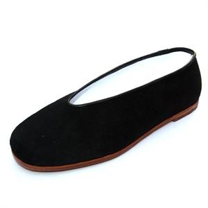 同升和 老北京布鞋男款老字号传统手工休闲皮底礼服呢圆口