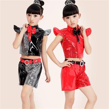 幼儿舞蹈表演服饰儿童爵士街舞舞蹈演出服
