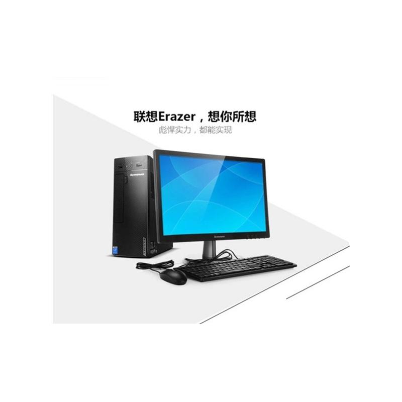 联想游戏台式机电脑 锋行k415 a10-6700 四核 4g 1t 独显 单主机图片
