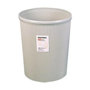 (创新科技)得力圆形废纸篓/圆形垃圾桶/塑料圆形清洁