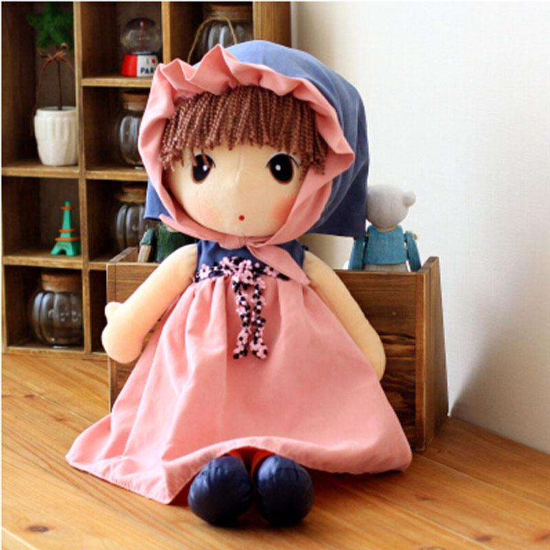 鑫诺 可爱洋娃娃毛绒玩具公仔布娃娃女孩童话菲儿生日礼物送女生_60