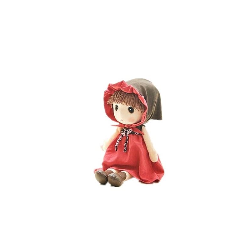 鑫诺 可爱洋娃娃毛绒玩具公仔布娃娃女孩童话菲儿生日礼物送女生_90
