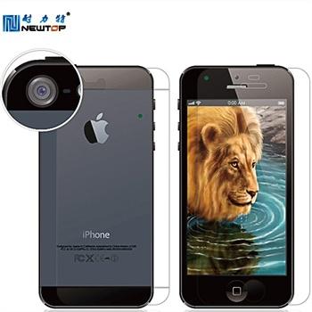 耐力特iPhone5C手机贴膜苹果5C贴膜高清单面贴膜手机保护膜
