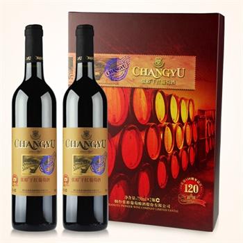 【张裕葡萄酒】张裕佐餐级干红葡萄酒礼盒750价格