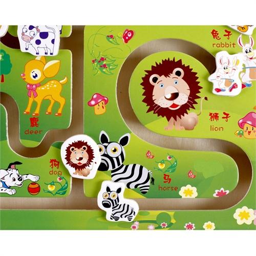 益智木玩 动物乐园