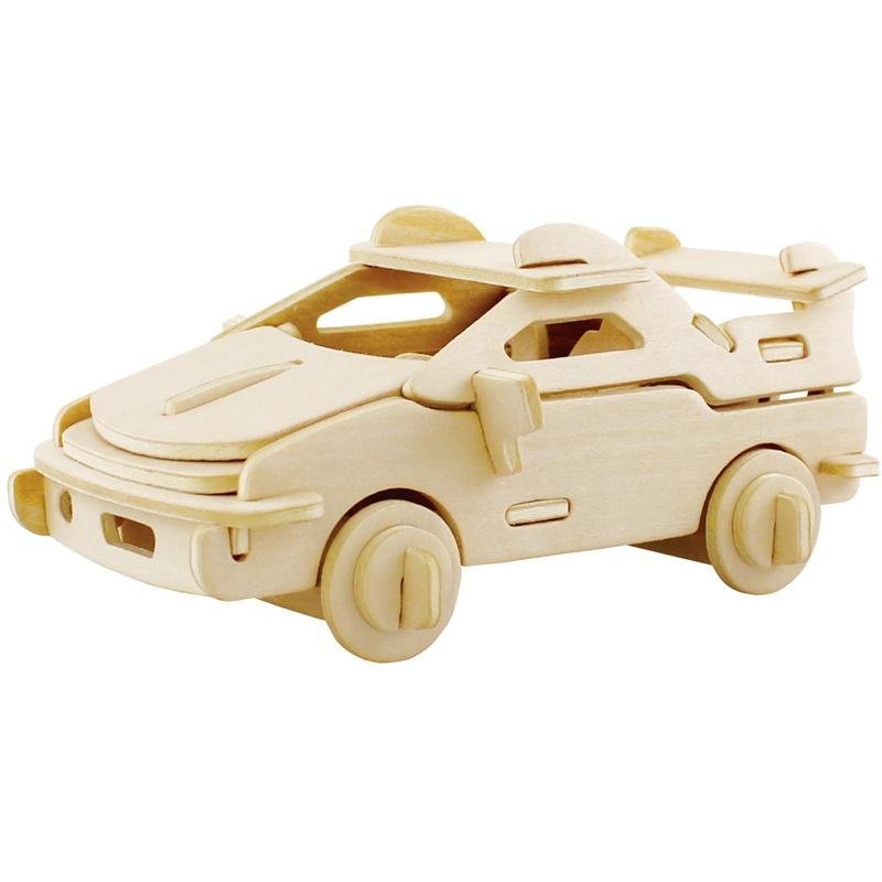 若态科技 3d立体拼图 木质益智玩具 军事模型 汽车飞机模型 多款选_jp