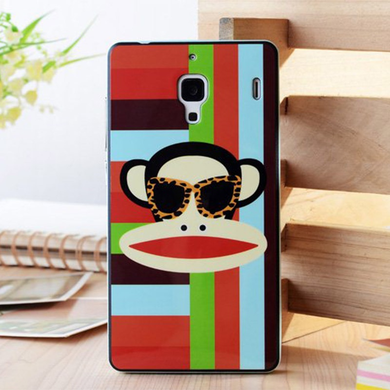 7寸)手机套 红米保护套 红米手机壳 红米保护壳 可爱卡通手机套 硅胶