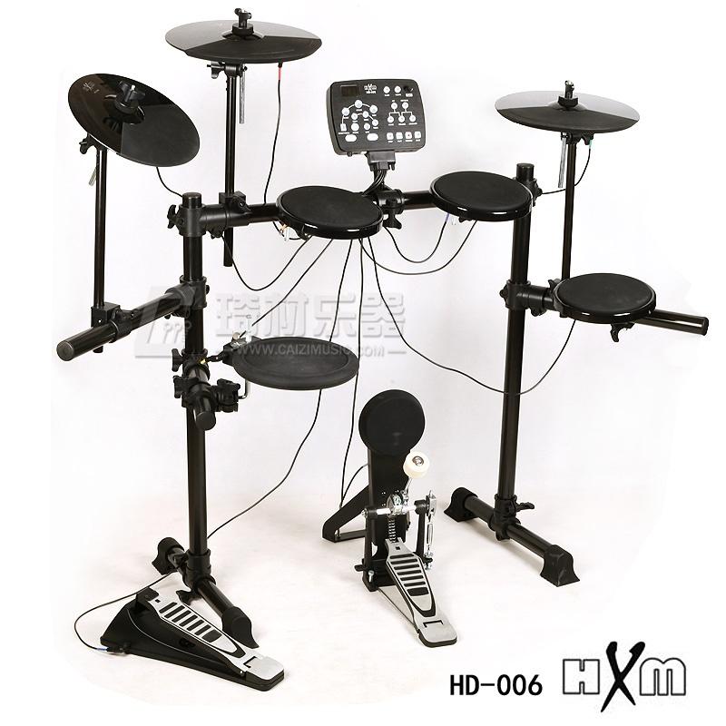 红魔hxm hd-006 电子鼓 电鼓 电架子鼓 爵士鼓 两年质保
