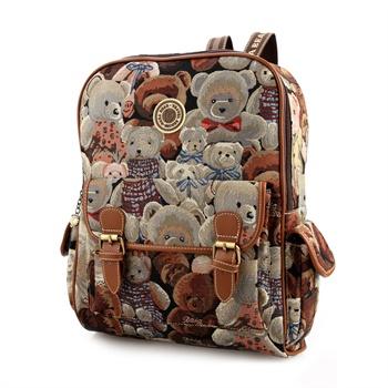 daka bear大咖熊迷彩熊系列 休闲女式双肩包 时尚背包图片