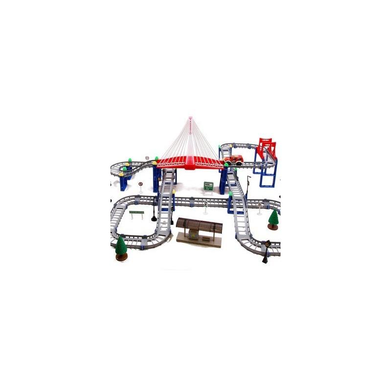 【环奇轨道车】环奇 梦幻魔轨儿童电动玩具轨道汽车