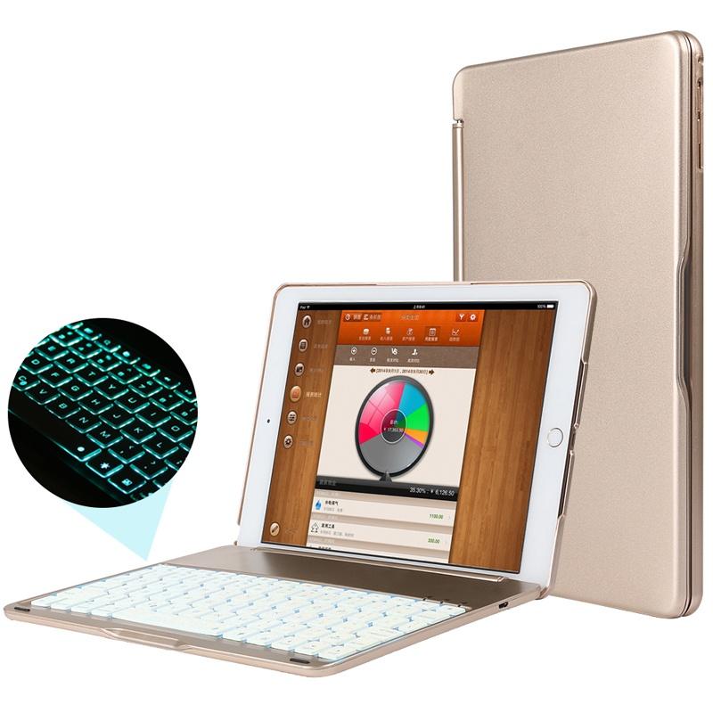 【索士苹果iPad Air2蓝牙键盘保护套iPad5\/6包