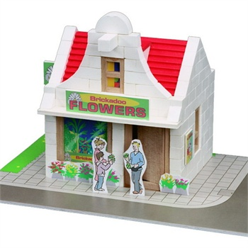 Brickadoo BK20902 儿童DIY建筑玩具 花店