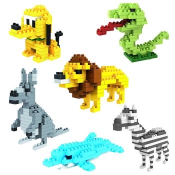 乐高积木恐龙拼装图纸