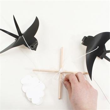 艺趣幼儿手工材料幼儿园儿童手工制作diy自制小燕子