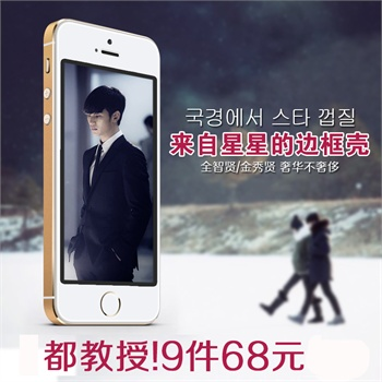 Remax苹果iphone5s手机壳金属边框iphone5s边框土豪金保护套超薄