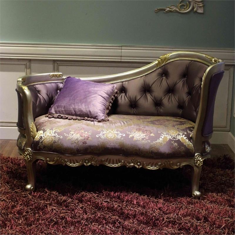 阿西娜欧式双人围椅 时尚公主贵妃椅