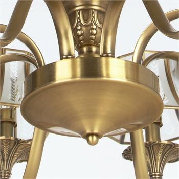 欧式吊灯客厅卧室餐厅灯具灯饰铜吊灯