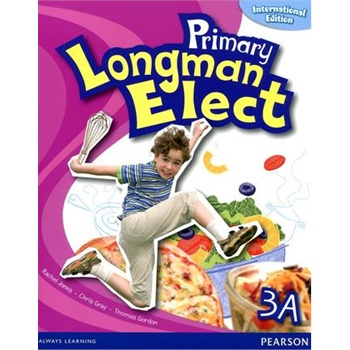原版朗文香港小学英语教材 primary longman elect 学生用书 3a 国际