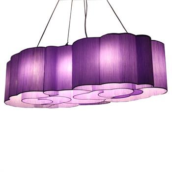 【比月花灯/吊灯/水晶灯】【比月】照明布艺灯酒店灯