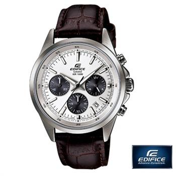 卡西欧手表 efr-527l-1/7avudf皮表带运动休闲男表