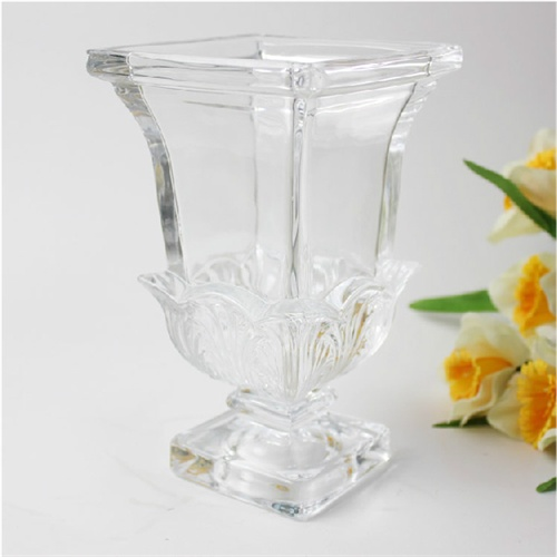 欧式高脚水培玻璃花瓶