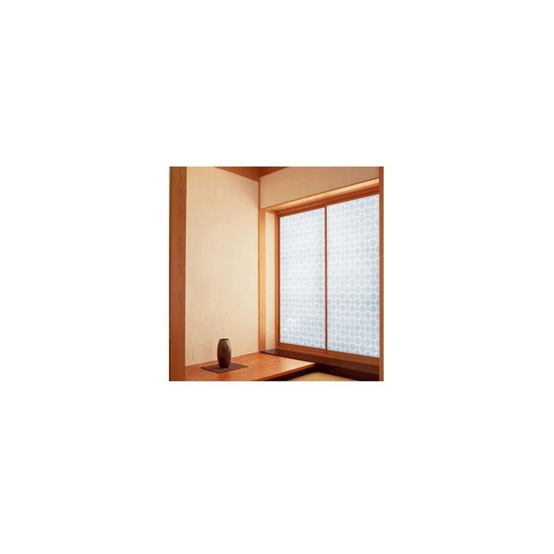 高档加厚只透光不透明 韩国玻璃贴膜窗户贴膜纸 防水窗花纸 24款_6019