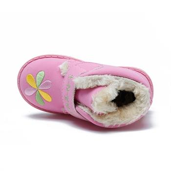 打毛线棉鞋的花图纸