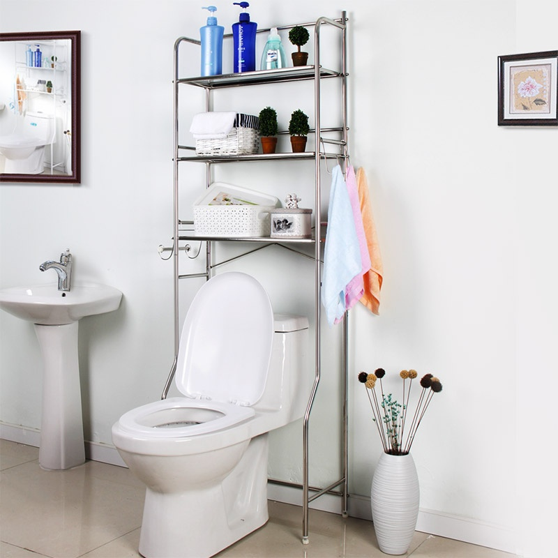 马桶架子不锈钢浴室厨房