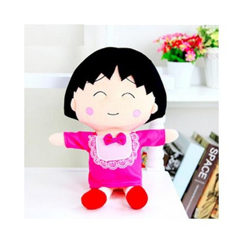 鑫诺 樱桃小丸子公仔 可爱创意毛绒玩具玩偶布娃娃 生日礼物送女生_50