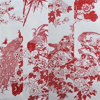 剪纸鸽子步骤图片