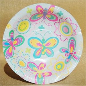 helloparty 派对纸杯纸盘20人装 花园蝴蝶