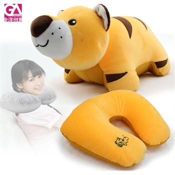 动物变形颈枕u型枕护