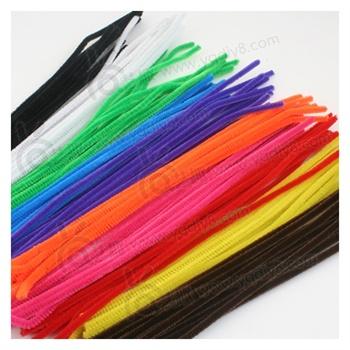毛条毛根扭扭棒毛根条diy美术幼儿园儿童手工制作材料绒条可选色