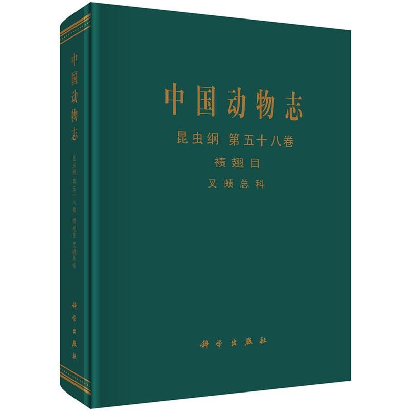 《中国动物志 昆虫纲 襀翅目
