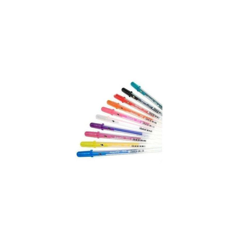 (创新科技)正品日本樱花立体笔 果冻笔 水彩笔 有立体效果的笔画 十色
