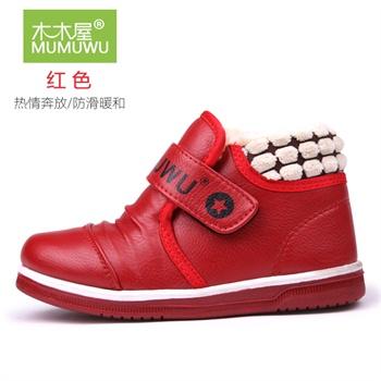 儿童鞋子 女童靴子