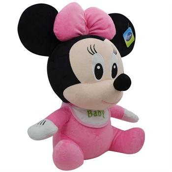 迪士尼 公仔 可爱围兜毛绒婴儿玩具娃娃玩偶生日礼物