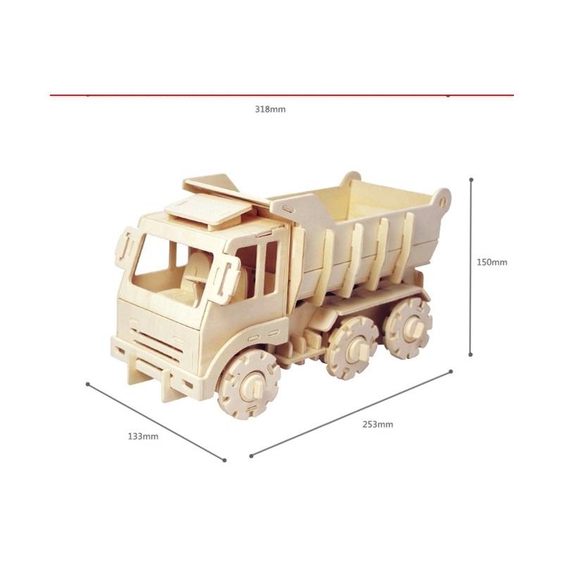 木质拼装模型