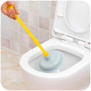 简家 管道强力吸通器 马桶抽 厕所下水道疏通器 皮搋子k3646