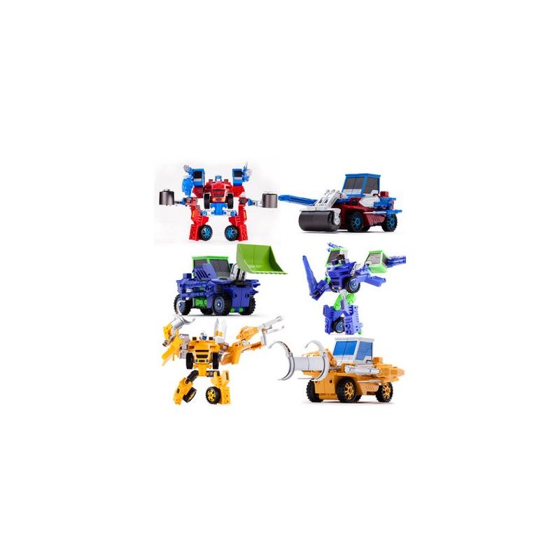 变形玩具 变形推土机 变形车