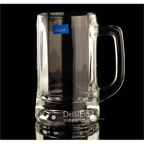 玻璃啤酒杯 扎啤杯子