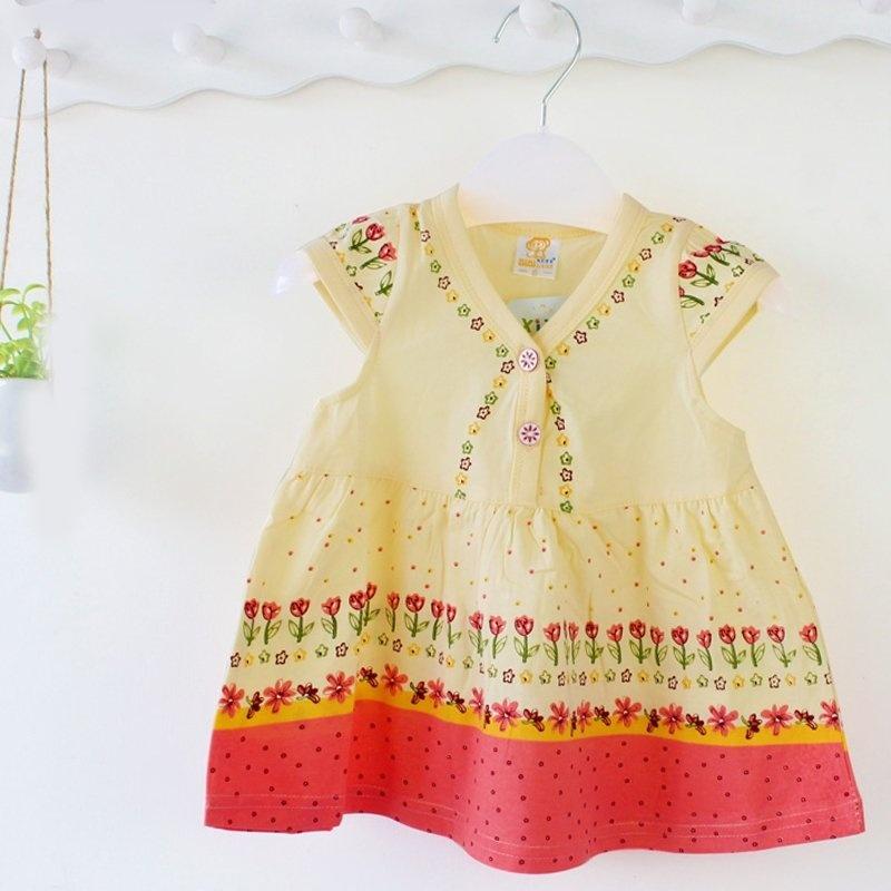 宝宝连衣裙 花边裙 宝宝外出服