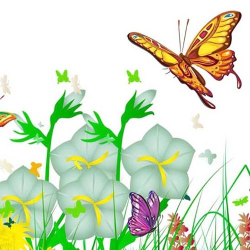 [当当自营]蓝调世珈时尚3d香氛立体装饰墙贴-绿野仙踪