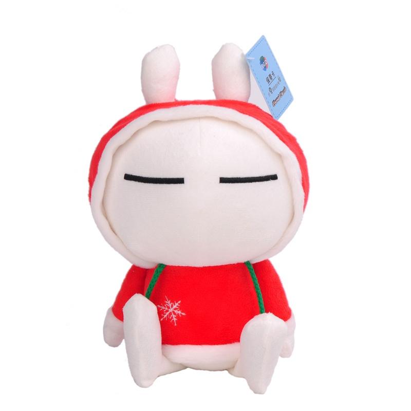 兔斯基 公仔 毛绒玩具 可爱 布娃娃情侣创意圣诞节礼物新款_30cm圣诞