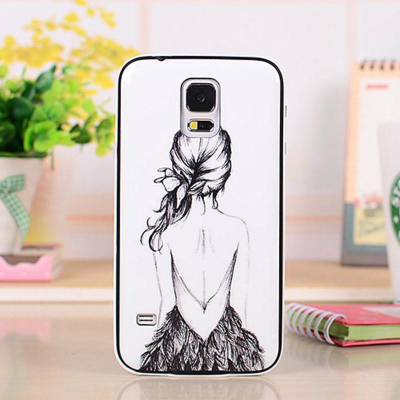 s5手机套 i9600保护套 g900手机壳 g9008v g9009d保护壳 g9006v可爱