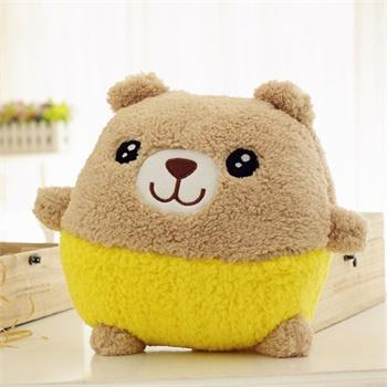暖手筒 手暖 手捂 插手毛绒玩具 抱枕 靠垫 青蛙 熊猫 小猪 小鸡 小