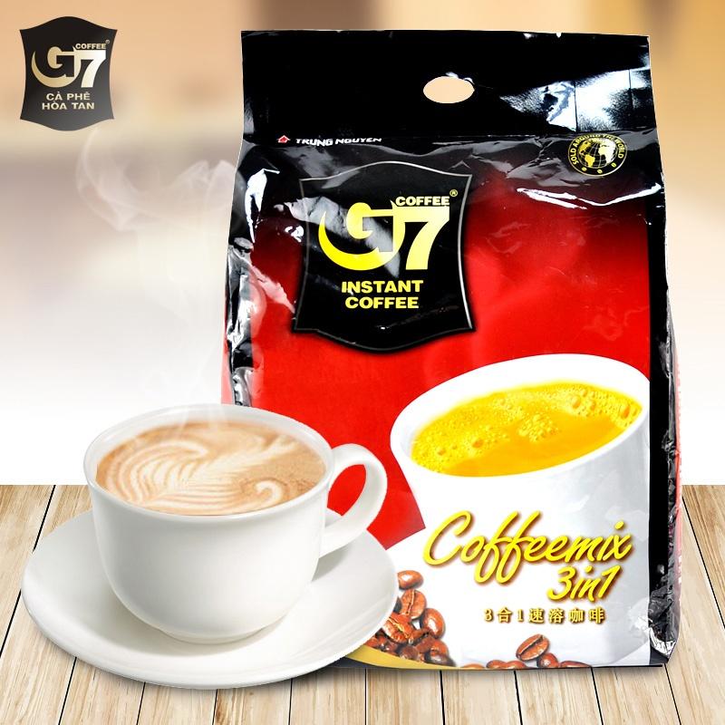 越南中原g7咖啡_越南进口咖啡 中原g7咖啡800g 进口速溶咖啡