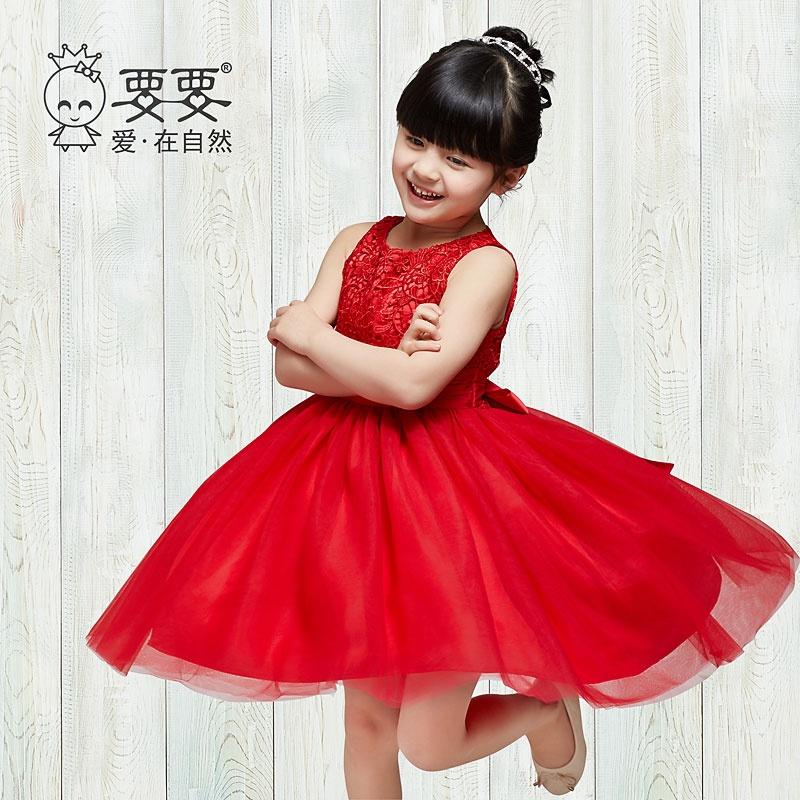 装新款女童公主裙儿童裙子
